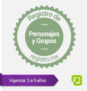Registro de Personajes y  Grupos